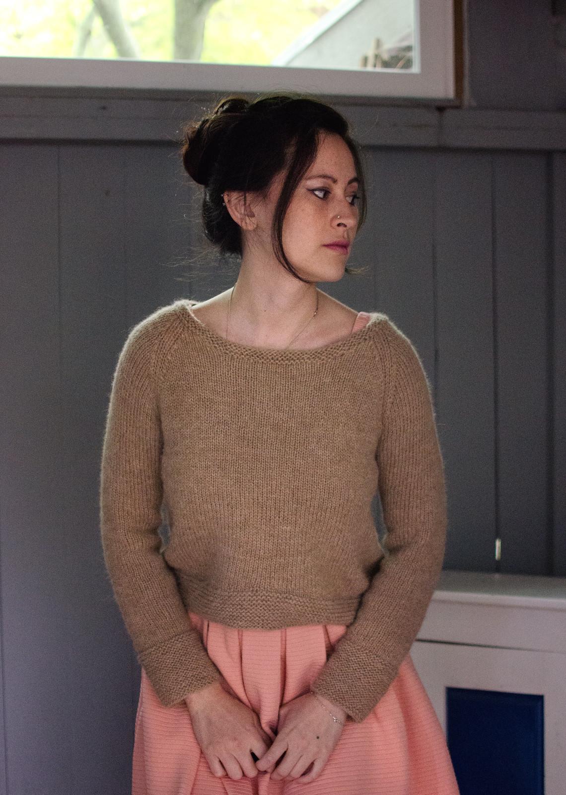 lila pullover