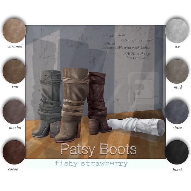 Patsy Boots