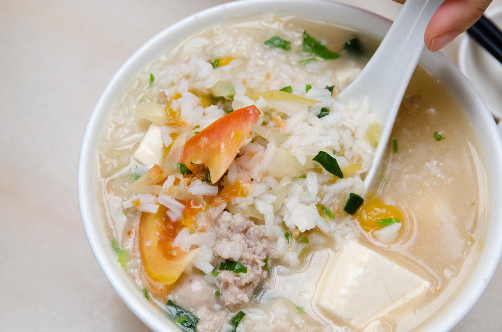 Hon Kei Food Corner's Pork Porridge