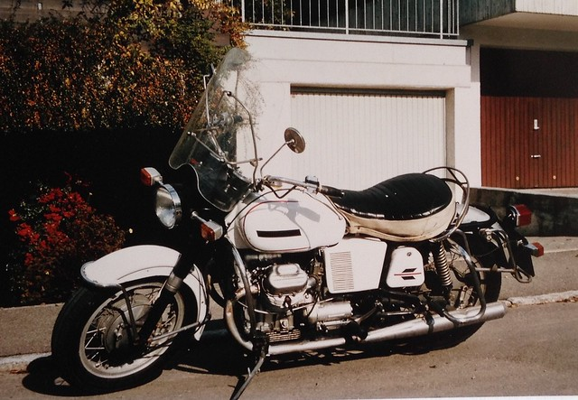 My Moto Guzzi V7 Spezial