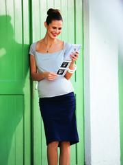 Maternity Skirt with Ruching - PDF Pattern