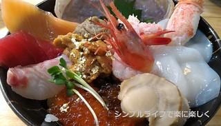 青春18敦賀、さかな街昼食