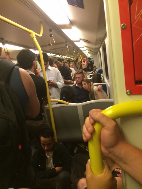 Pakenham train, 2:35am, 1/1/2016 (Pic: James Clark)