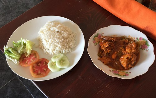 Pollo con arroz / Chicken with rice / Huhn mit Reis