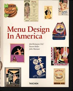 Menu Design cover