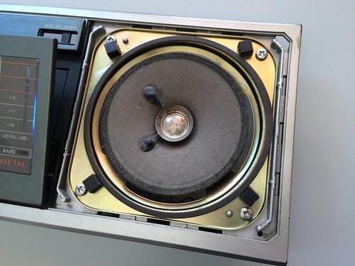 CFS-10 スピーカー修理