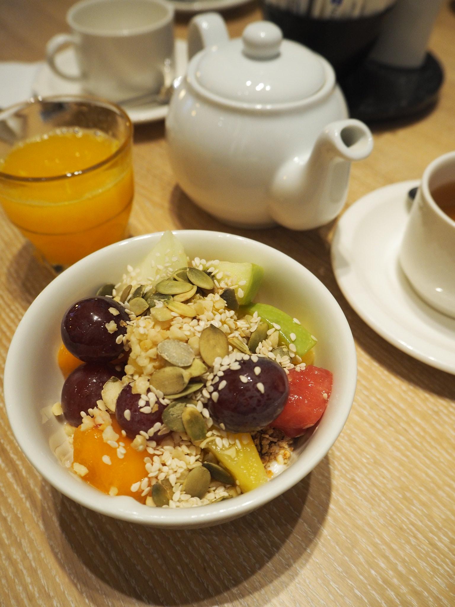 Frühstück / Müsliliebe / Radisson Blu