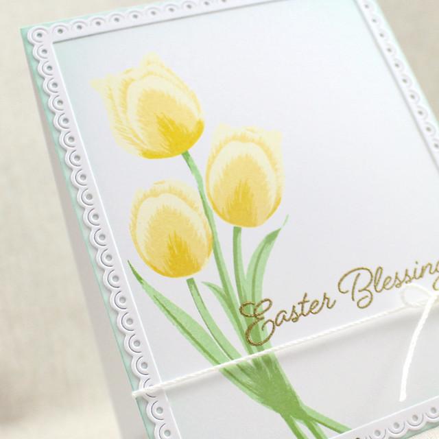 Easter Blessings Tulip Detail