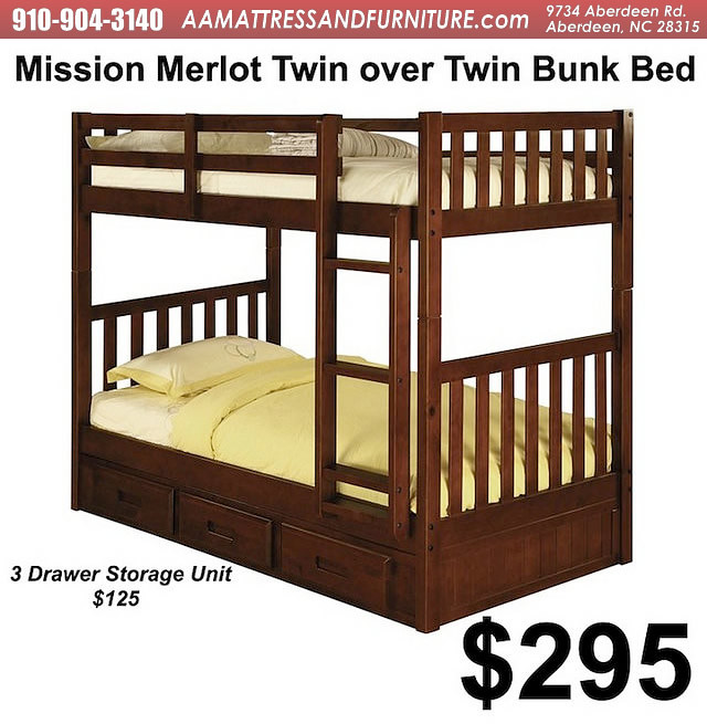 Mission Merlnk bunk bed WM