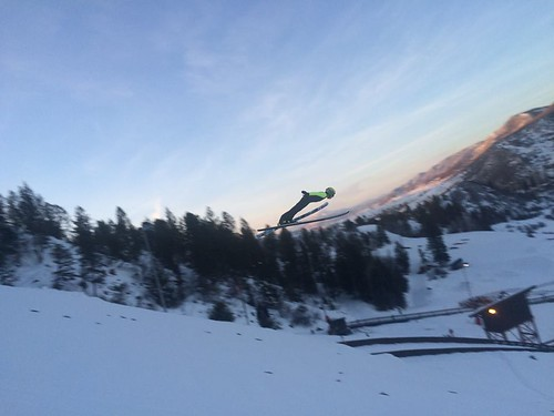 Howelson Hill ski jumper