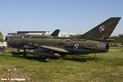 304 - N17532368304 - Polish Air Force - Sukhoi SU-22 UM-3K - Polish Aviation Musuem - Krakow, Poland - 151010 - Steven Gray - IMG_0358
