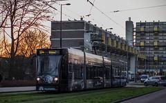GVB Combino tram 2091, Lijn 17, Tussen Meer