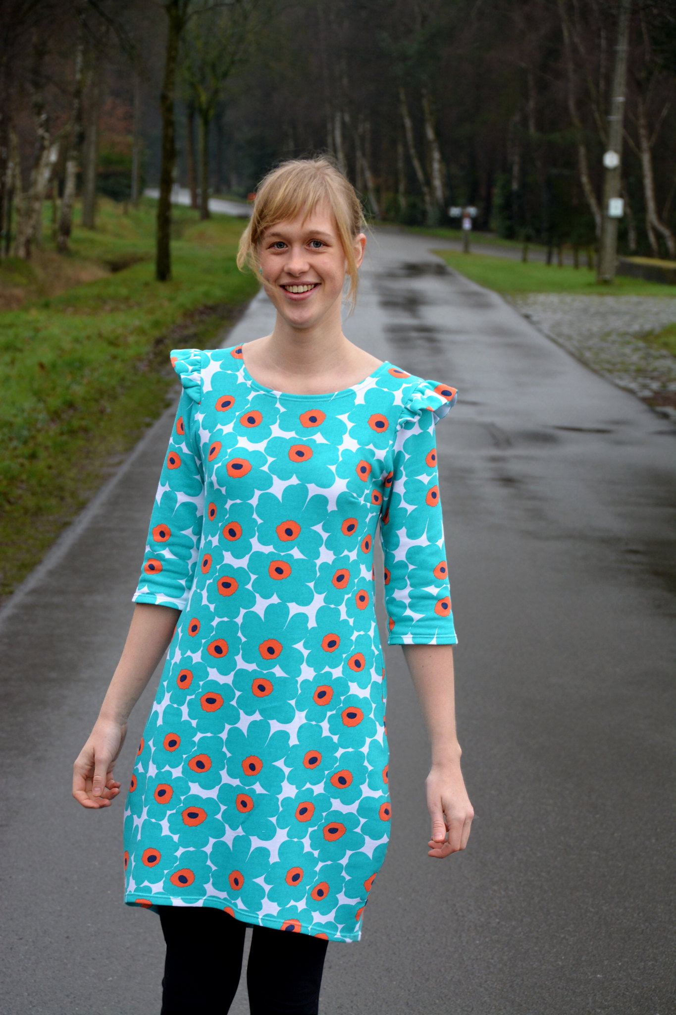 540fbef80d8187 With Love - by Eva  Cocoon dress - de damesversie