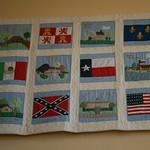 6 banderas de Texas / 6 Texas flags