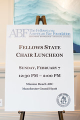 2/07/16 State Chair Luncheon