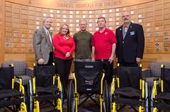 Shriner's Hospital Chairs