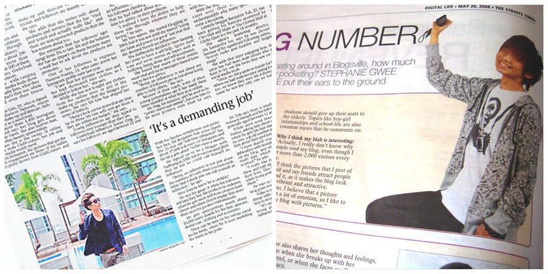 Typicalben on The Straits Times: Sunday Life and Digital Life