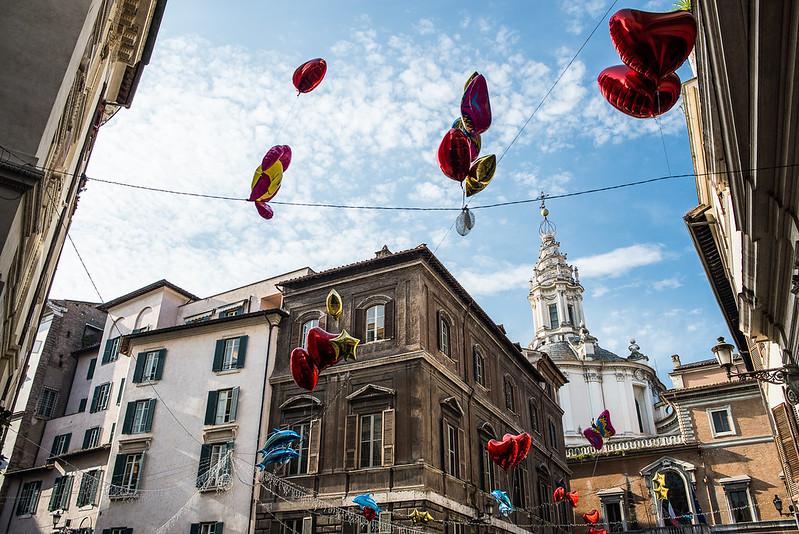 A Roma en el corazón.