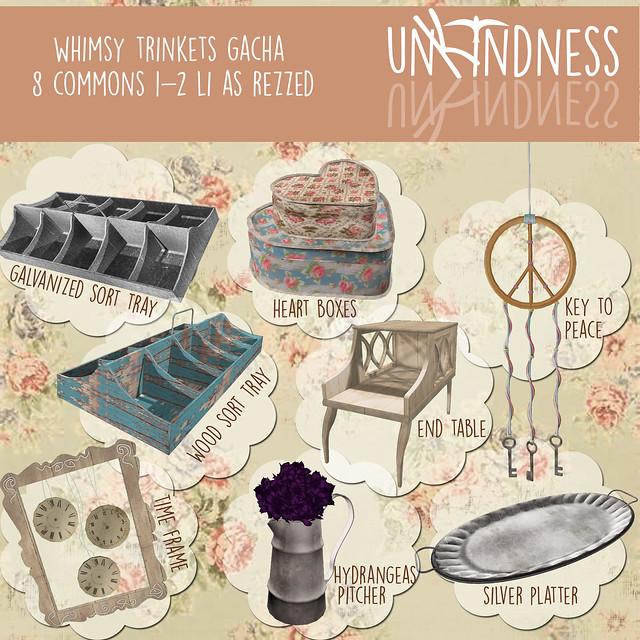 uK - Whimsy Trinket Gacha