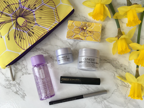 Spring Pretty: Caroline Taylor x Clinique BonusTime GWP at John Lewis - Liberty London Girl