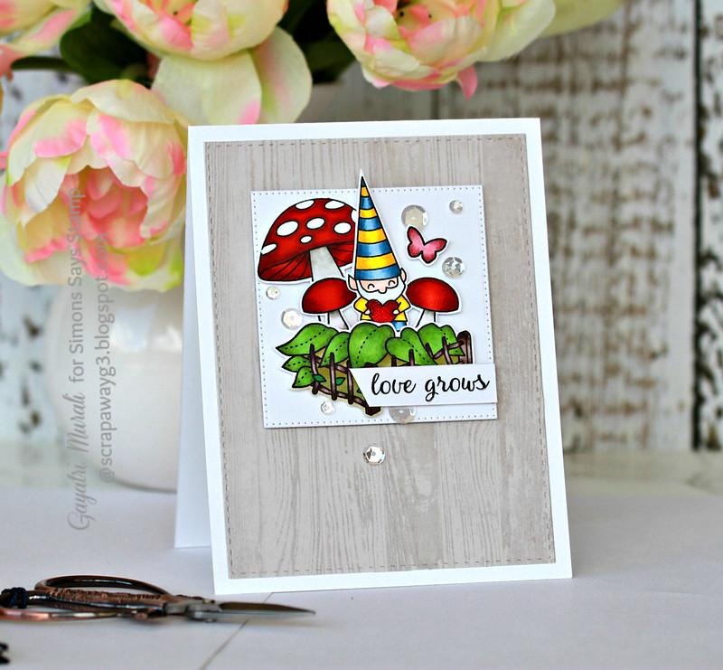 Love grows card #1