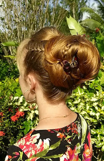 Groovy Tropical Big Bun Hairstyle Hi Everyone This Morning I Mad Flickr Schematic Wiring Diagrams Amerangerunnerswayorg