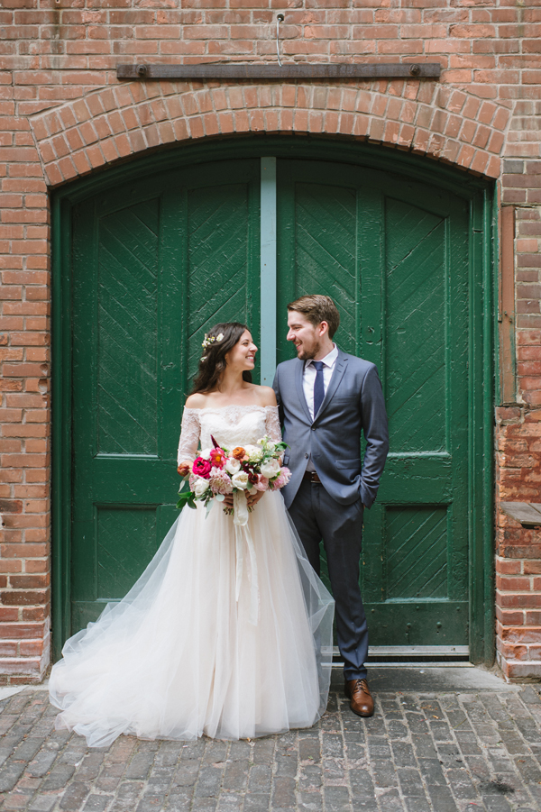 Celine Kim Photography AM Airship 37 distillery district romantic summer wedding-45