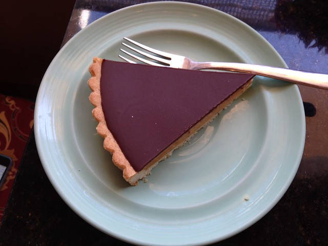 Chocolate Peanut Butter Tart from Dolce, Troy AL