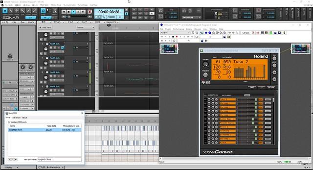 SOUND Canvas VA用にVST Hostを利用するというワザ | | 藤本健の