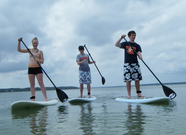 Paddle board in Goa