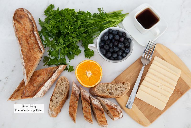 Bread of the month - Baguette à l'Avoine or Oat Baguette