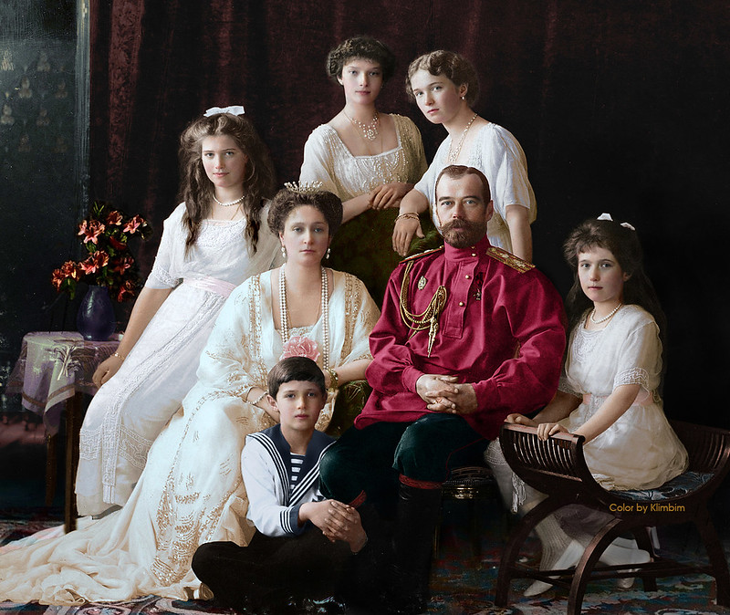 Family Nicholas II of Russia, 1914