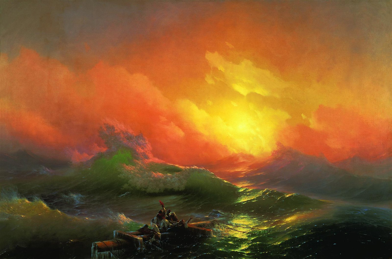 The Ninth Wave by Ivan Aivazovsky, 1850