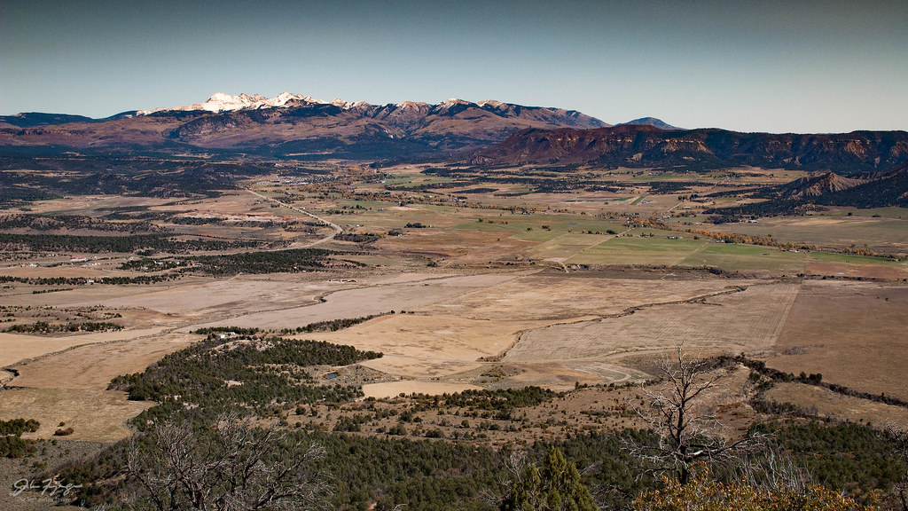 Mancos Valley From 7875ft