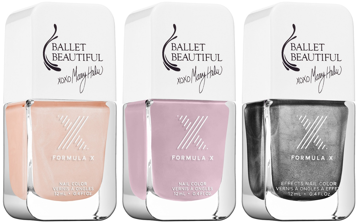 Formula X Ballet Beautiful Nail Polish Collection