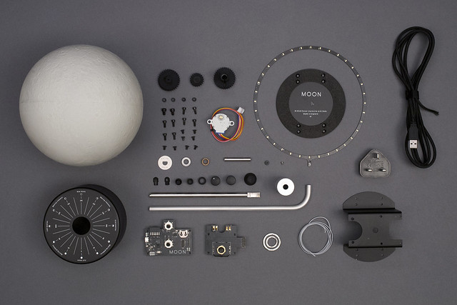 All the parts making MOON