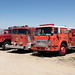Old Fire Engines & Rescue Vehicles in Nevada