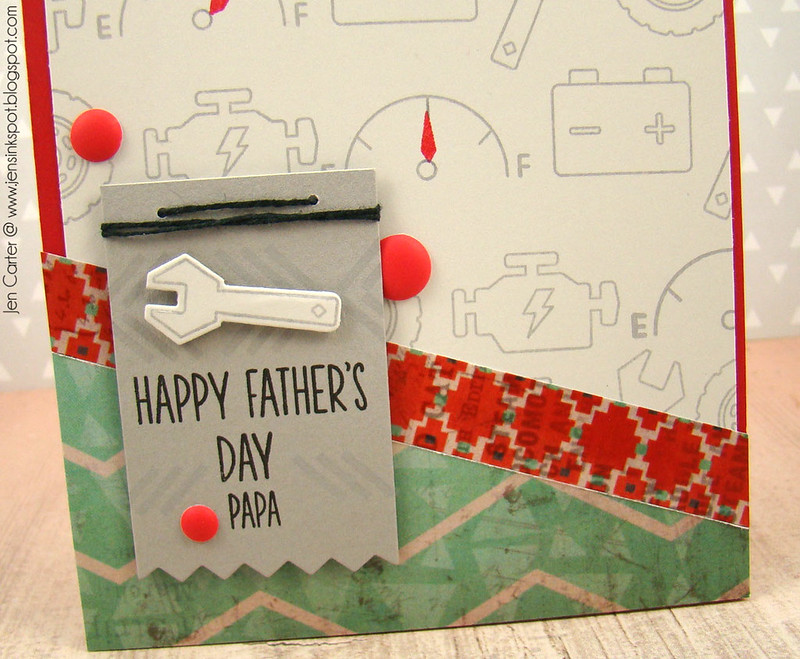 Jen Carter Father's Day Papa Closeup
