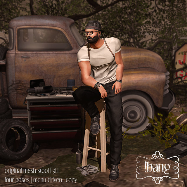!bang - stool homme