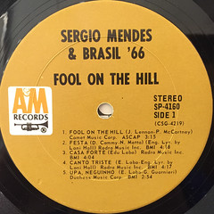 SERGIO MENDES & BRASIL '66:FOOL ON THE HILL(LABEL SIDE-A)