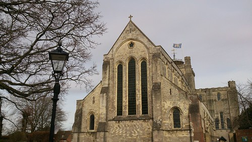 Romsey Abbey, westerly view