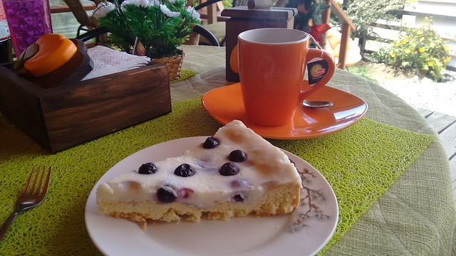 Kuchen and Tea in Cucao, Chiloé, Chile
