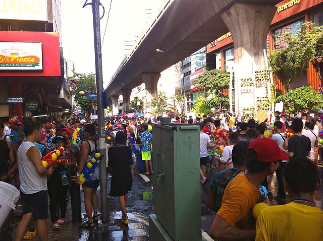 Songkran Bangkok Silom