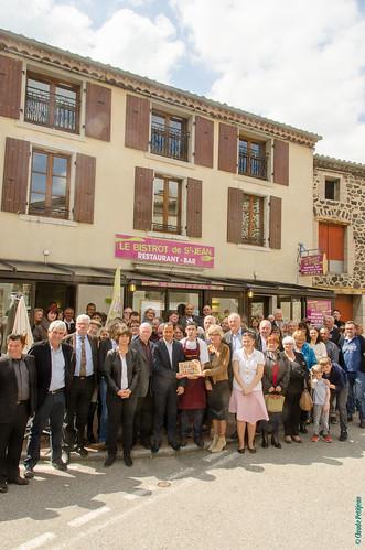 Inauguration Bistrot de Pays - Saint-Jean-le-Centenier (15)