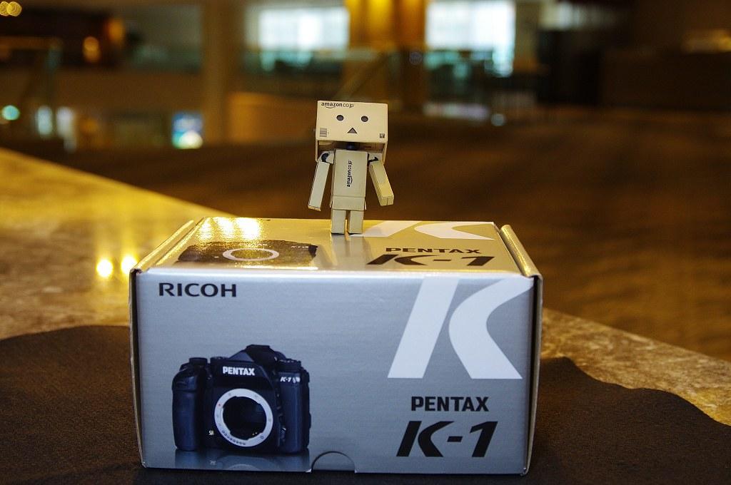 Pentax K-1 迫不及待開箱