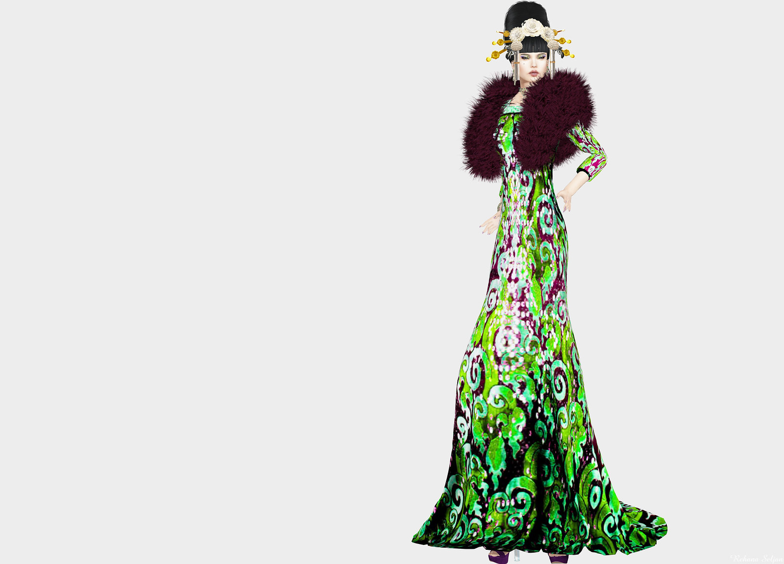 Glam Dreams -  Festivity Gown