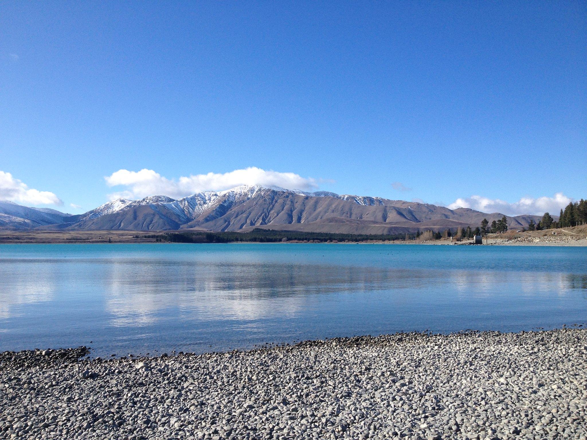 Gleaming Lake Tekapo