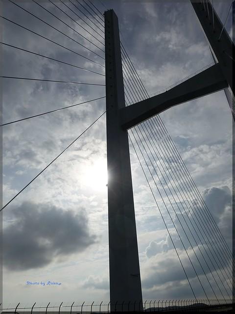 Photo:2015-09-06_T@ka.'s Life Log Book_女神大橋でフォトウォーク 海と橋と太陽と【長崎】_06 By:logtaka