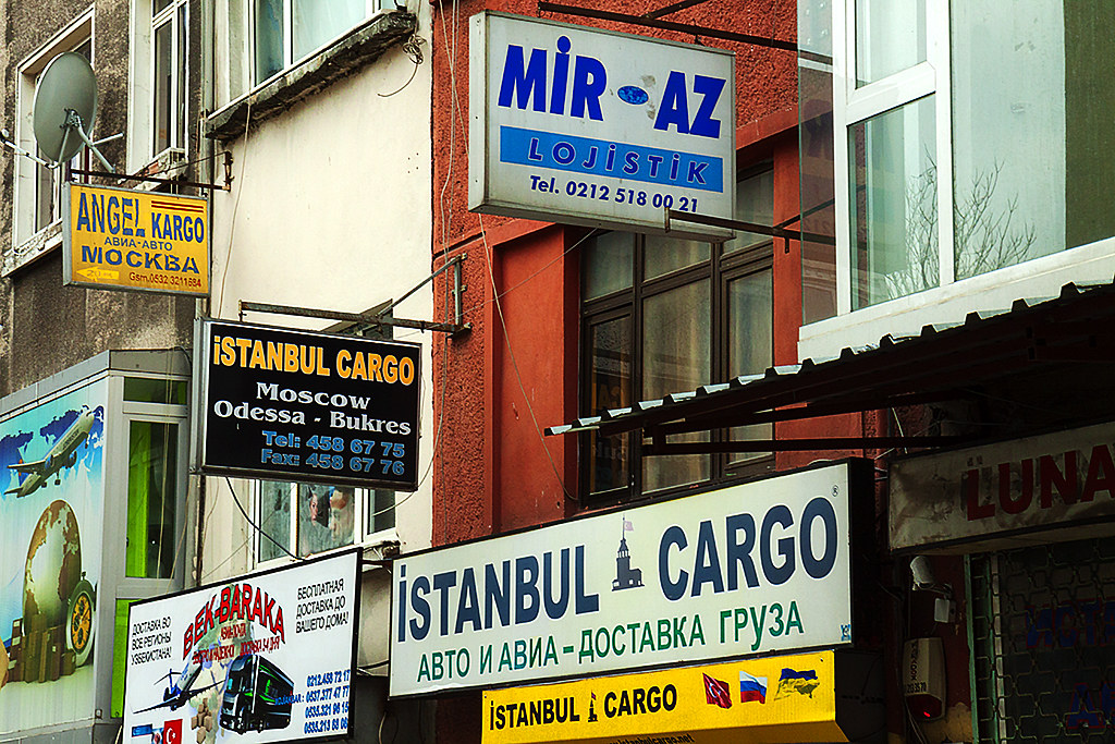 ISTANBUL CARGO Moscow Odessa Bukres--Istanbul