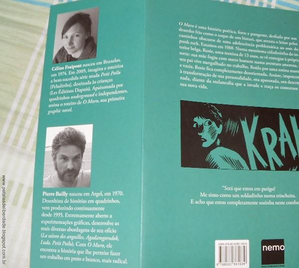 Resenha, hq, graphic novel, trecho, ler, O muro, Fraipont e Baily, Nemo